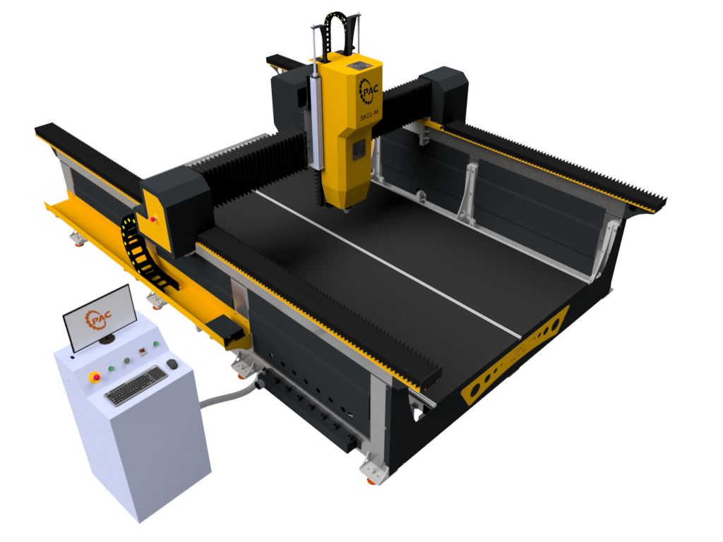 Pac M Series Mold Cnc Router