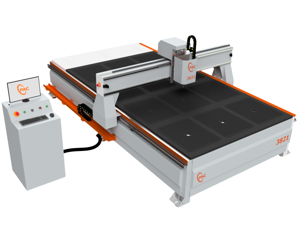 Pac 3821 Series Cnc Router