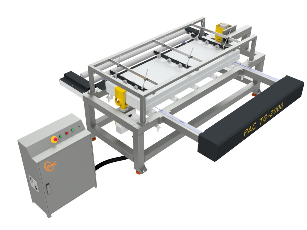 Pac  Edge Cutting Machine (Tongue and Groove Machine)
