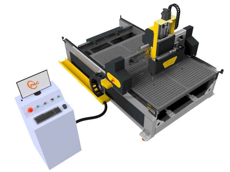 Pac 2070 4 Axis Cnc Router